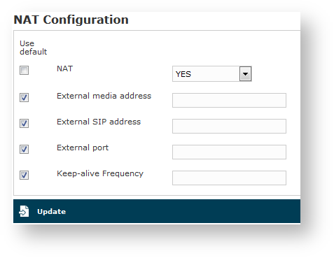 2 4 Advanced configurations - Enterprise Voice Security Suite 18 0